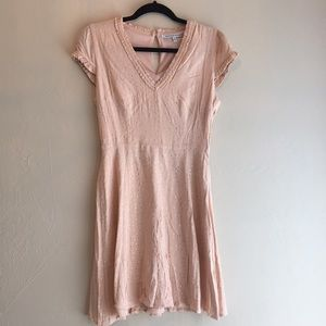 Collective Concepts pink mini dress